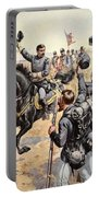 General Mcclellan At The Battle Portable Battery Charger by Henry Alexander Ogden