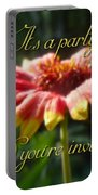 General Party Invitation - Blanket Flower Wildflower Portable Battery Charger by Mother Nature