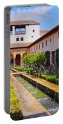 Generalife In Granada Portable Battery Charger