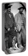 Generals Fierro And Villa Unknown Location 1913 -2013 Portable Battery Charger