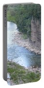 Genesee River In Grand Canyon Of East Portable Battery Charger