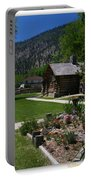 Genoa Log Cabin Portable Battery Charger