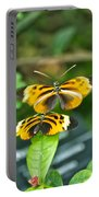 Gentle Butterfly Courtship 02 Portable Battery Charger