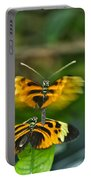 Gentle Butterfly Courtship 03 Portable Battery Charger