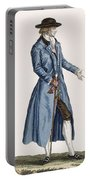 Gentleman In Blue Coat, Plate Portable Battery Charger