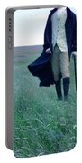 Gentleman Walking In The Country Portable Battery Charger