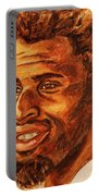 Gentleman With Goatee Portable Battery Charger