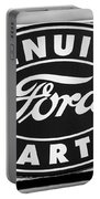 Genuine Ford Parts Sign Portable Battery Charger
