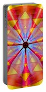 Geo-cosmic Sri Yantra Portable Battery Charger