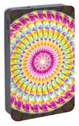 Geo Master Eleven Kaleidoscope Portable Battery Charger by Derek Gedney