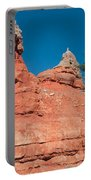 Geological Forces At Red Canyon Portable Battery Charger