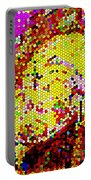Geometric Abstractions Artwork Colorful Cool Creations Designer Phone Cases 121 Carole Spandau  Portable Battery Charger