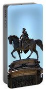 George And His Horse Portable Battery Charger