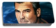 George Clooney 2 Portable Battery Charger