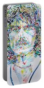 George Harrison Portrait.2 Portable Battery Charger