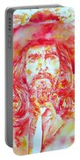 George Harrison With Hat Portable Battery Charger