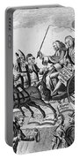 George IIi Cartoon, 1775 Portable Battery Charger