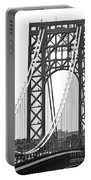George Washington Bridge Nj Tower Portable Battery Charger