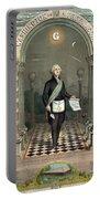 George Washington Freemason Portable Battery Charger