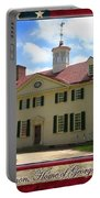 George Washington's Mount Vernon Portable Battery Charger