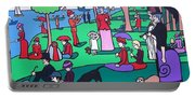 George Seurat- A Cyclops Sunday Afternoon On The Island Of La Grande Jatte Portable Battery Charger