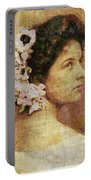 Geraldine Farrar Portable Battery Charger