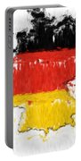 Germany Painted Flag Map Portable Battery Charger