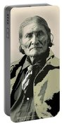 Geronimo As Photographed By A. Rinehart Omaha Nebrasks  1898-2013.  Portable Battery Charger