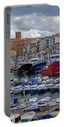 Getaria In Basque Country Spain Portable Battery Charger