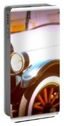 Ghost From The Past Portable Battery Charger by Bobbee Rickard