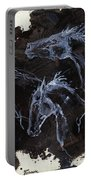 Ghost Horses Portable Battery Charger