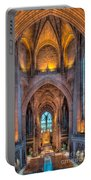 Ghost In The Cathedral Portable Battery Charger by Adrian Evans