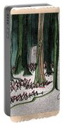 Ghost Stories Forest Graveyard By Jrr Portable Battery Charger
