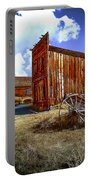 Ghost Towns In The Southwest Portable Battery Charger by Bob and Nadine Johnston