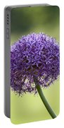 Giant Allium Flower Portable Battery Charger
