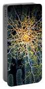 Giant Basket Star At Night Portable Battery Charger