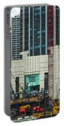 Downtown Chicago High Rise Construction Site Portable Battery Charger