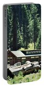 Giant Forest Museum Portrait Portable Battery Charger