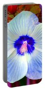Giant Hibiscus Portable Battery Charger