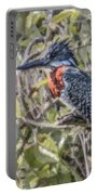 Giant Kingfisher Portable Battery Charger