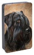 Giant Schnauzer Portable Battery Charger
