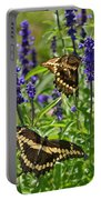 Giant Swallowtail Butterfly Couple Portable Battery Charger