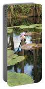 Giant Water Lilies Portable Battery Charger