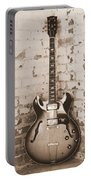 Gibson In Sepia Portable Battery Charger