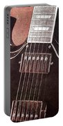 Gibson Sg Standard Red Grunge Portable Battery Charger