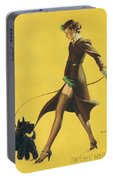 Gil Elvgren's Pin-up Girl Portable Battery Charger