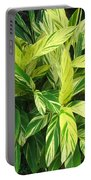 Ginger Lily. Alpinia Zerumbet Portable Battery Charger