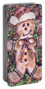 Gingerbread Fantastico Portable Battery Charger