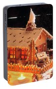 Gingerbread House, Traditional Portable Battery Charger