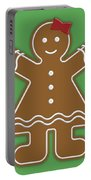 Gingerbread People Portable Battery Charger